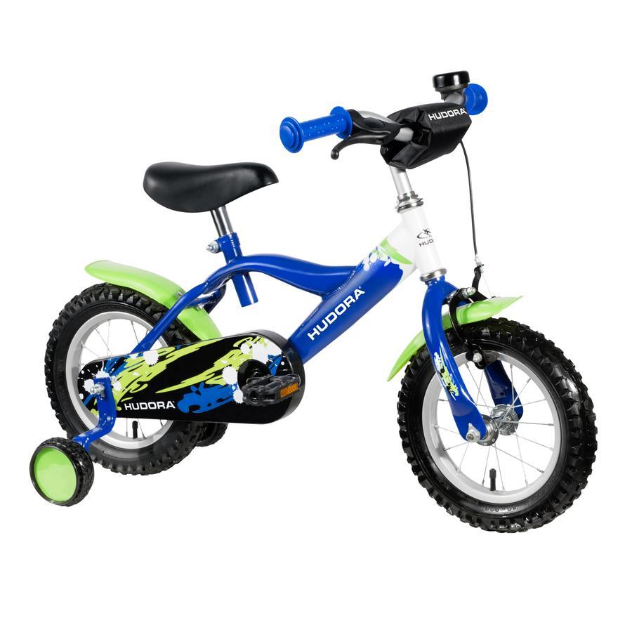 """HUDORA Vélo enfant, 12"""", vert/bleu 10540"""