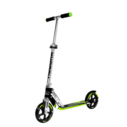 HUDORA Monopattino Big Wheel RX-Pro 205, nero/verde 14235