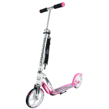 HUDORA Step Big Wheel RX-Pro 205, wit/roze