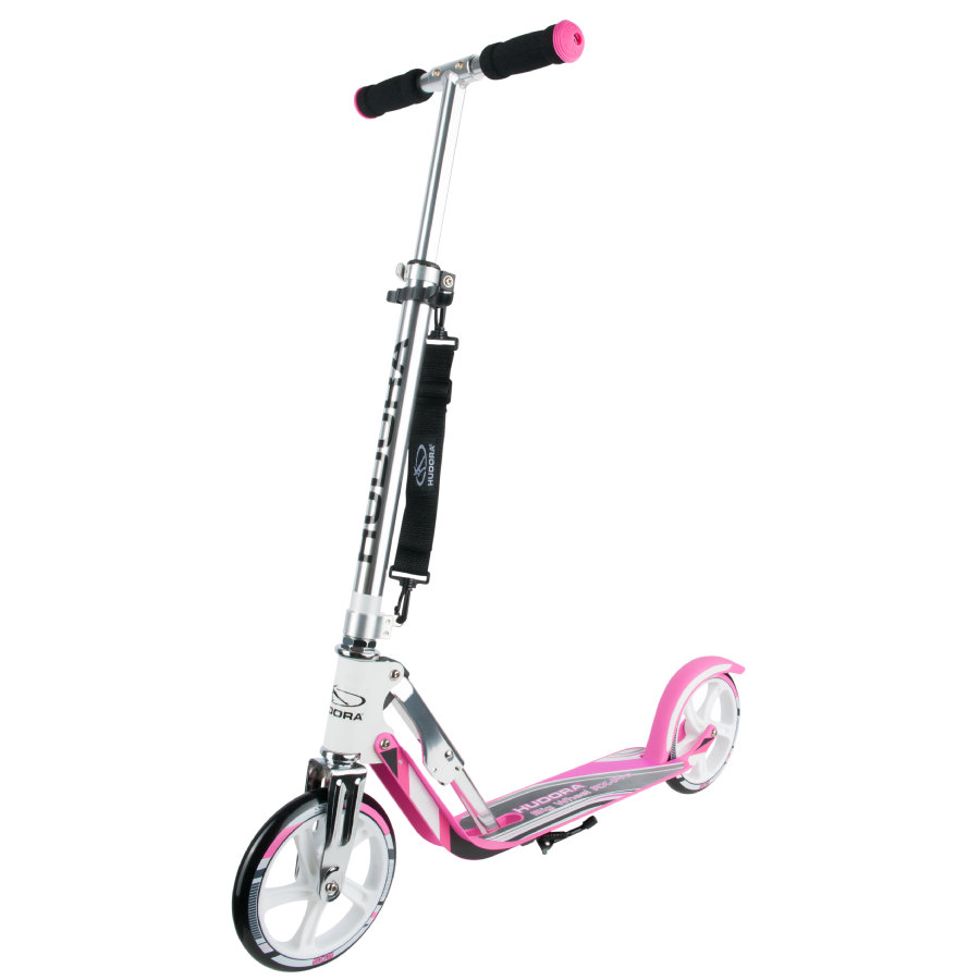 HUDORA Hulajnoga Big Wheel RX-Pro 205, white/pink