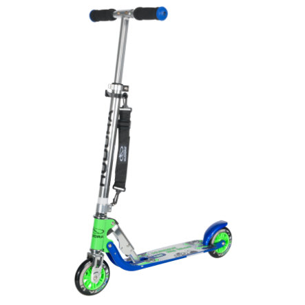 HUDORA Hulajnoga Big Wheel 125, blue/green 14753