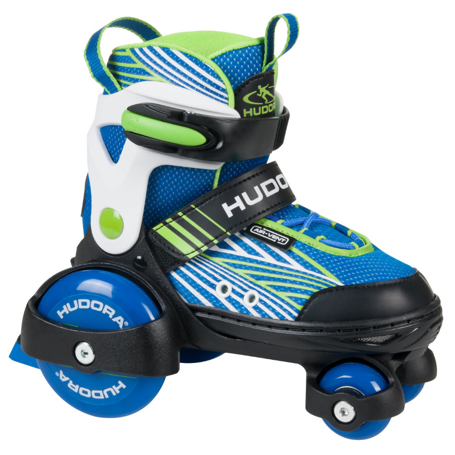 HUDORA® Rollers quad enfant, T. 26-29, bleu 22040