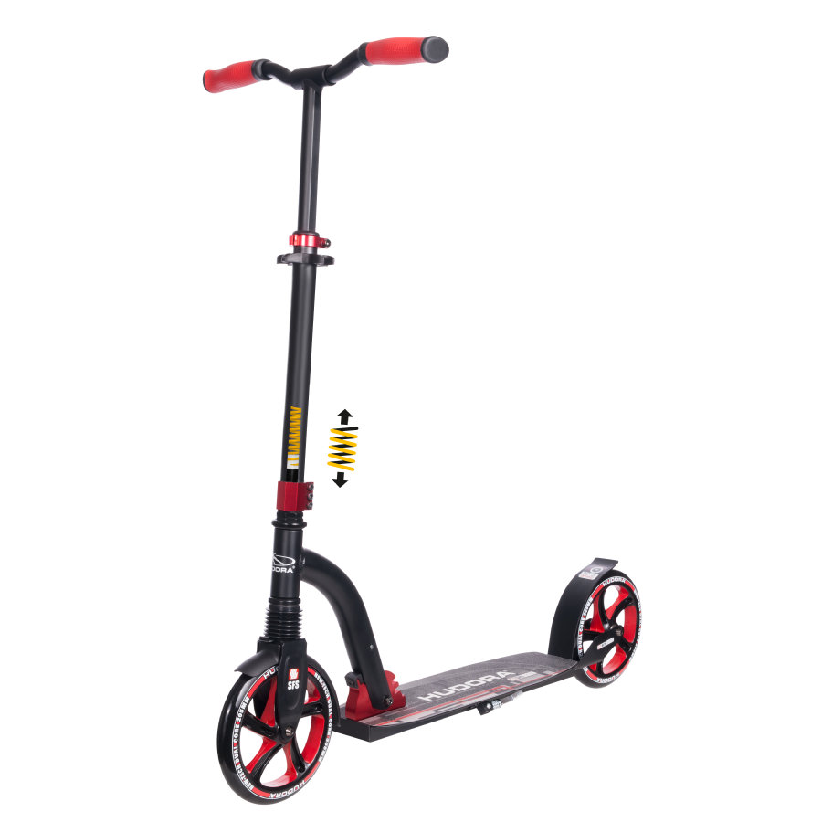 HUDORA Hulajnoga Big Wheel Flex 200, red 14249