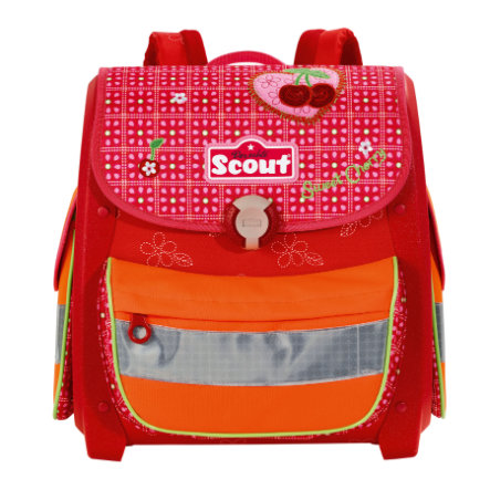 SCOUT Aktovka Basic Buddy - Sweet Cherry