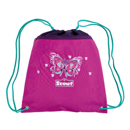 Scout Sportbeutel Basic - Purple Butterfly