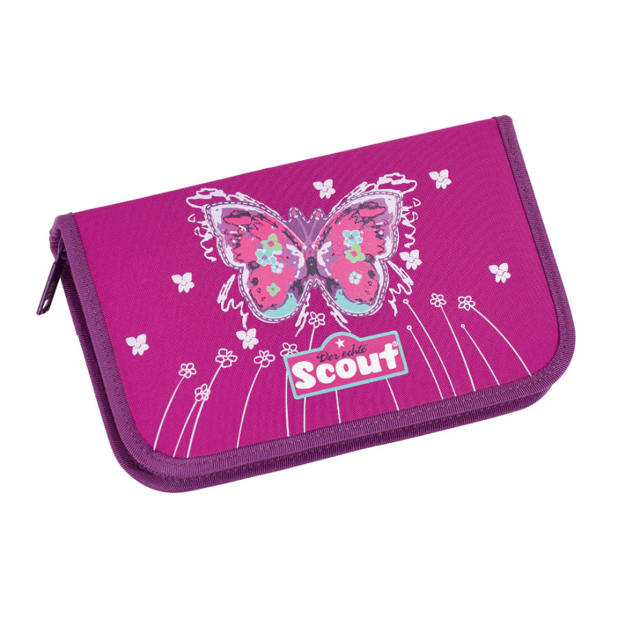 Scout Basic Etui 23 tlg. - Purple Butterfly