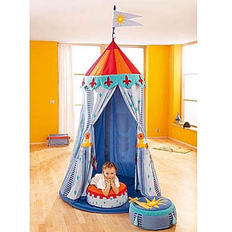HABA Tente à suspendre Tente de chevaliers