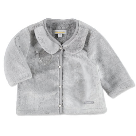 Staccato Girls Baby Plüsch-Jacke grey