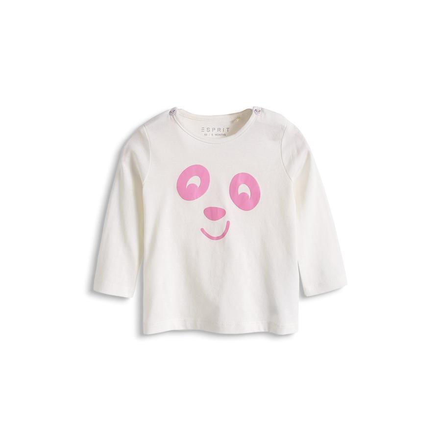 ESPRIT Newborn Girls Bluzka z długim rękawem Off White 2