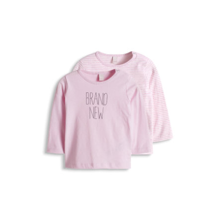ESPRIT Girl s Newborn Set van 2 Longkousen dubbelverpakking roze