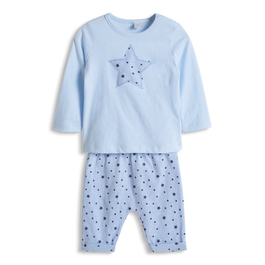 ESPRIT Boys Newborn 2er-Set Longsleeve + Hose Light Blue