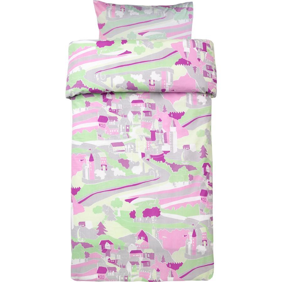 Kids Concept sengetøy til barneseng Fairy pink 100 x 130 cm