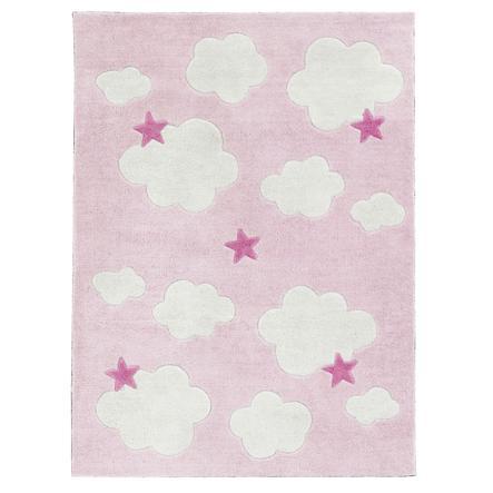 KIDS CONCEPT Tapijt Abbey, roze