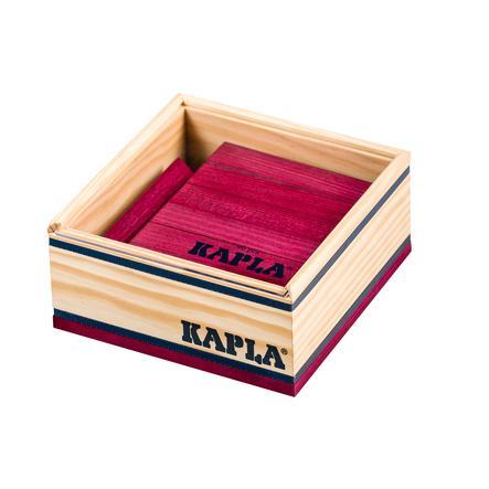 KAPLA Bausteine - 40er Qaudrate, Violett