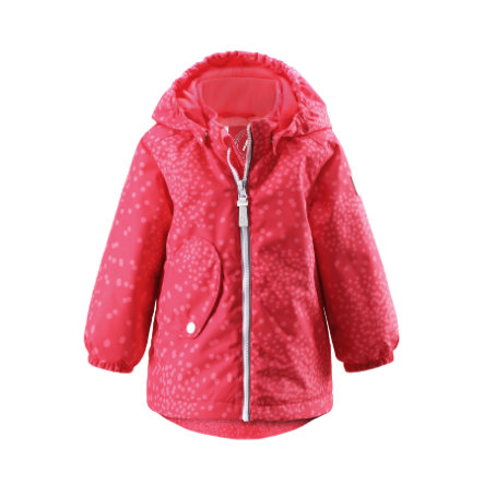 REIMA Girls Mini bunda Sleet flamingo red