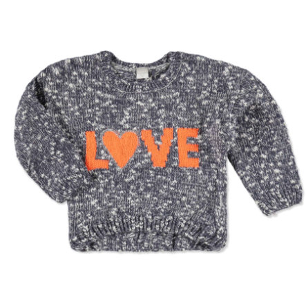 NAME IT Girls Mini Strickpullover NITLIVA graystone
