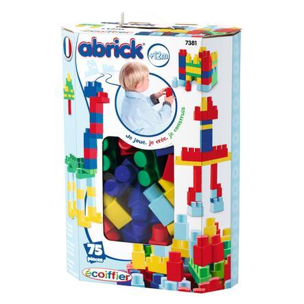 ECOIFFIER Maxi Abrick - Baril, 75 pièces, bleu