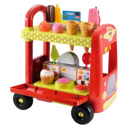 ECOIFFIER Wóz z lodami i hamburgerami