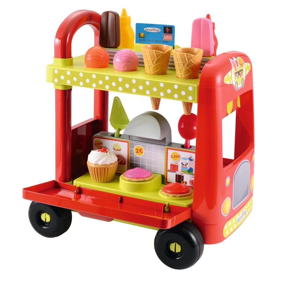 Ecoiffier Mobiler Burger- und Eiswagen -