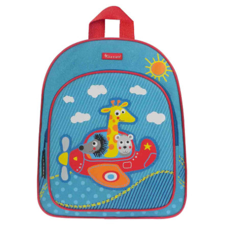 KIDZROOM Sac à dos Vroom Avion, bleu