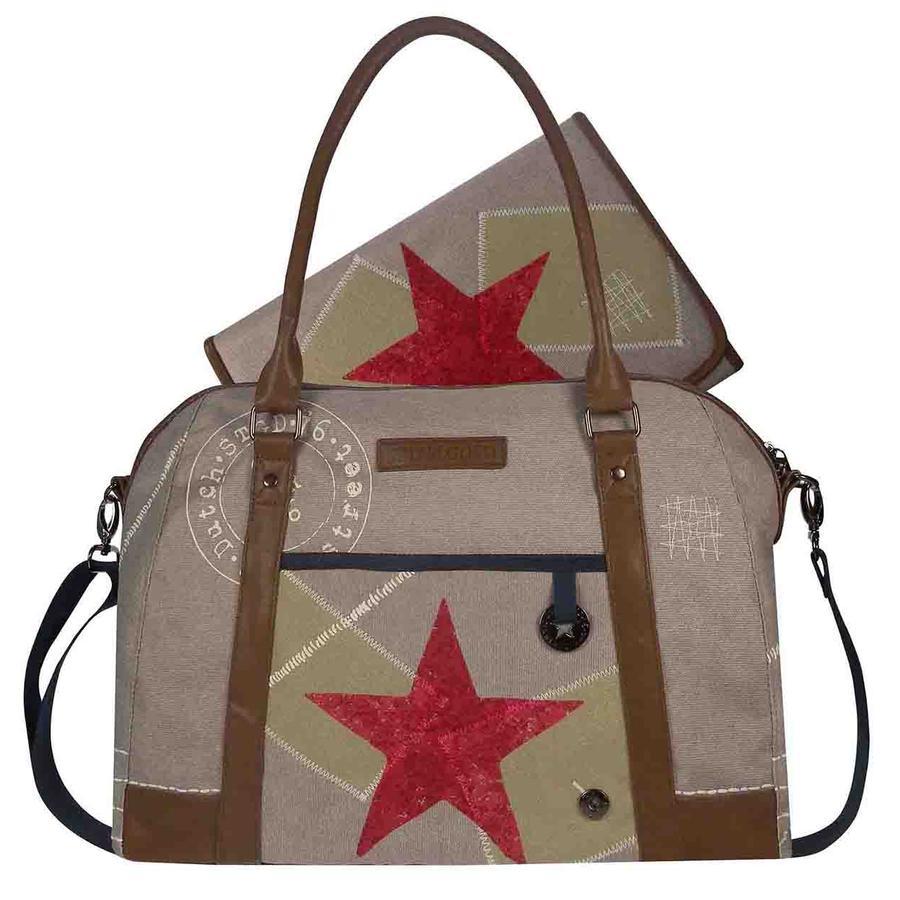 STAPELGOED Thougher - Přebalovací taška L-sand