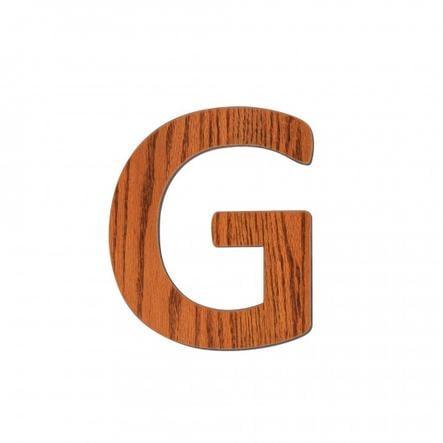 SEBRA G, Holz Buchstabe