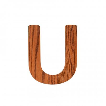 SEBRA Kirjain U, puuta