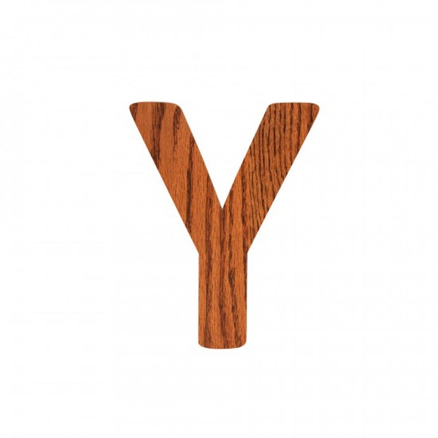 SEBRA Y, Holz Buchstabe