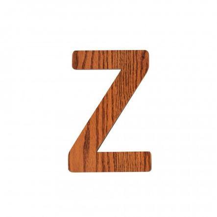 SEBRA Z, letra de madera