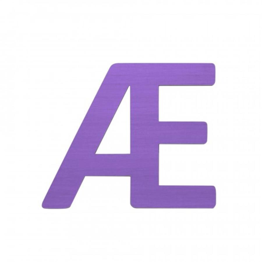 SEBRA Jouet Lettre Æ, violet