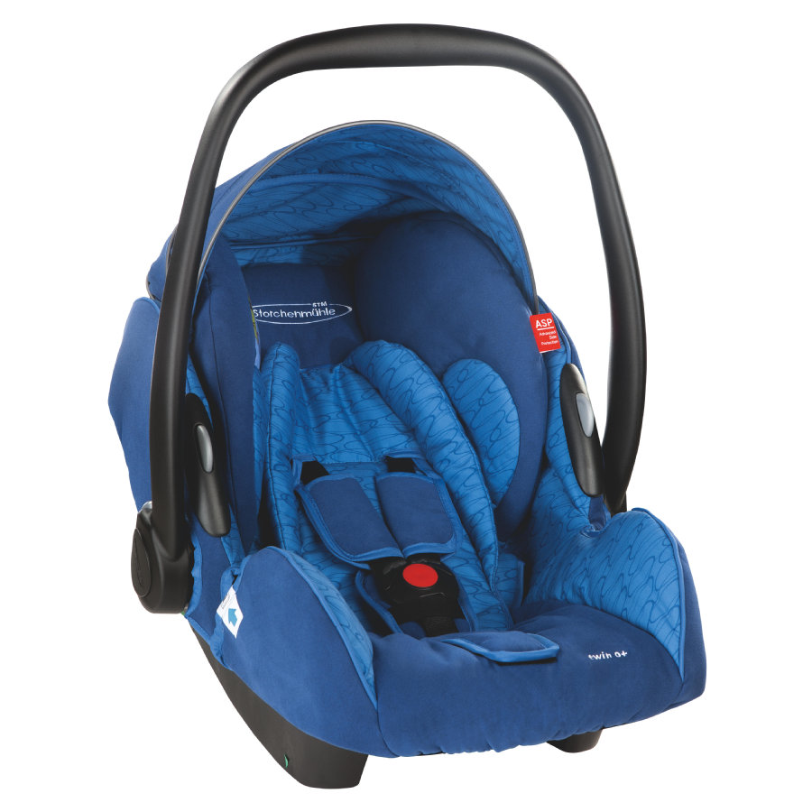 Storchenmühle Babyschale Twin 0+ navy