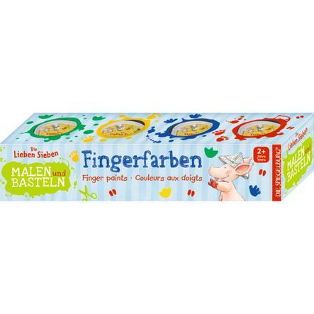 COPPENRATH Fingerfarben - Die Lieben Sieben