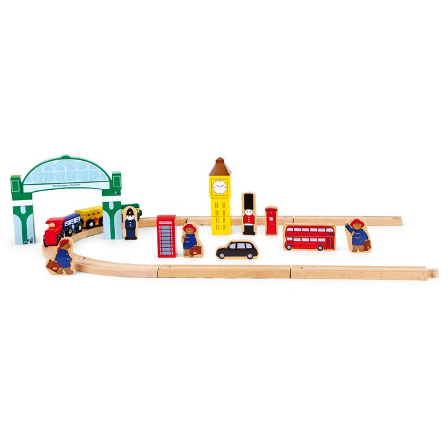 small foot design® Paddington Bär - Eisenbahn Spielset