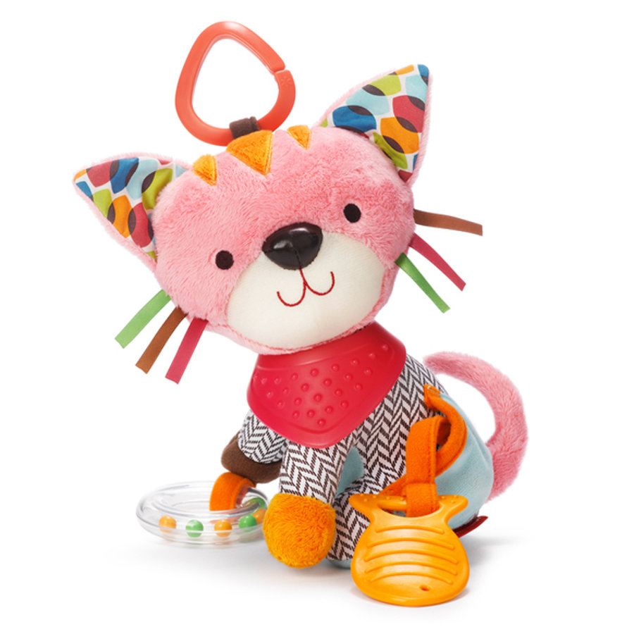 SKIP HOP Bandana Buddies - Activity Toy Kitty