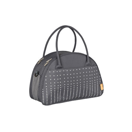 LÄSSIG Borsa fasciatoio Casual  Shoulder Bag Dotted lines ebony