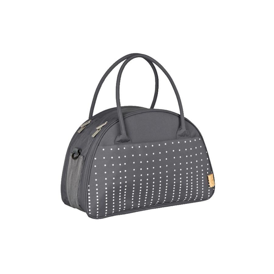 LÄSSIG Nappy Bag Casual Shoulder Bag Dotted lines ebony