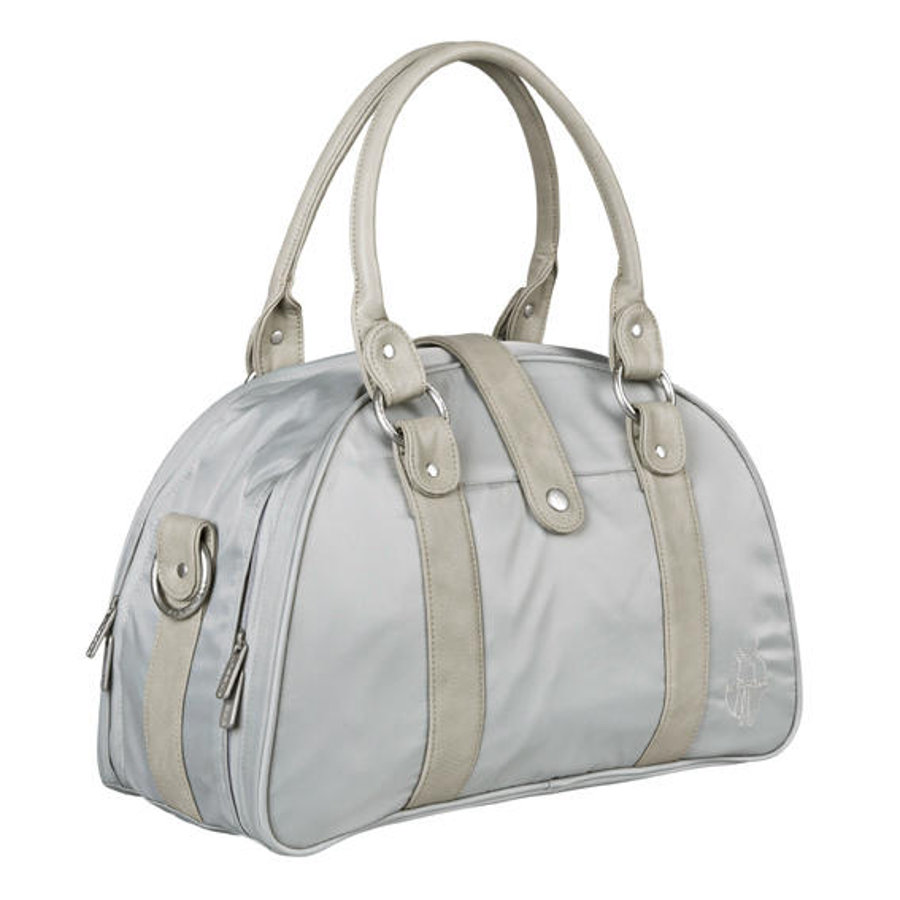 LÄSSIG Sac à langer Shoulder Bag Glam, gris clair