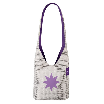 LÄSSIG Wickeltasche Casual Fan Shopper Twinkle lavender