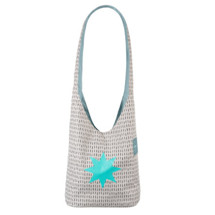 LÄSSIG Wickeltasche Casual Fan Shopper Twinkle aqua