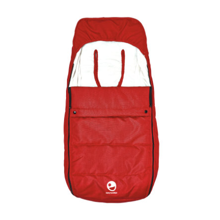 EASYWALKER Saco cubrepiés Mosey London Red