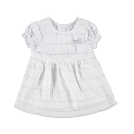KANZ Girls Mini Kleid bright white