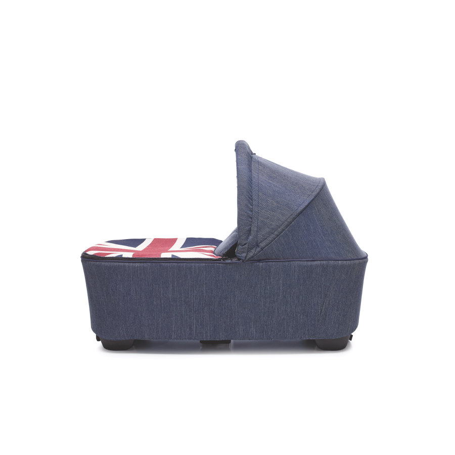 EASYWALKER MINI Kinderwagen Reiswieg Union Jack Denim