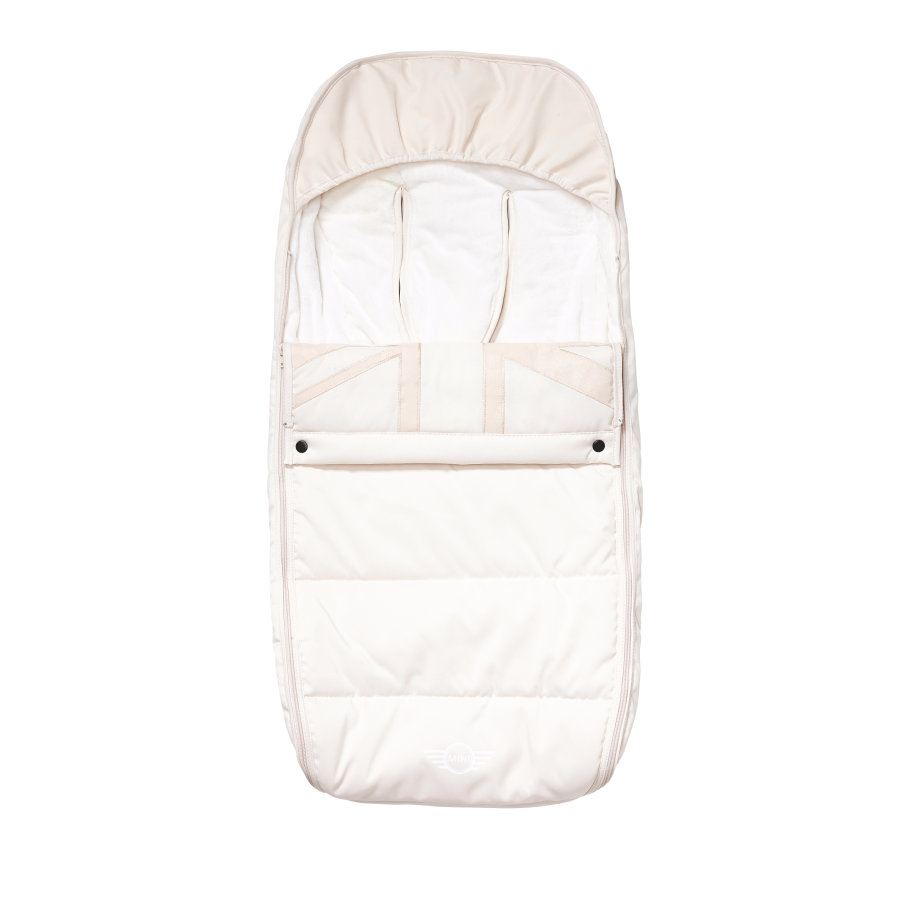 EASYWALKER Fußsack MINI Pepper White Jack