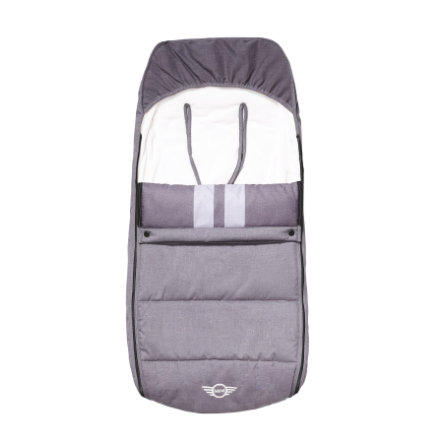 EASYWALKER Fußsack MINI Moonwalk Grey