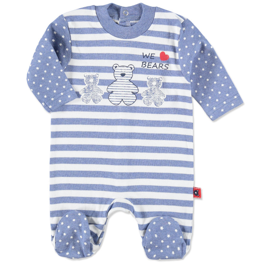EBI & EBI  Baby Sleep Suit California blue