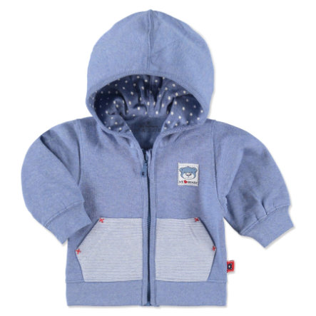 EBI & EBI Sweat Jacket Bunny and Bear blue