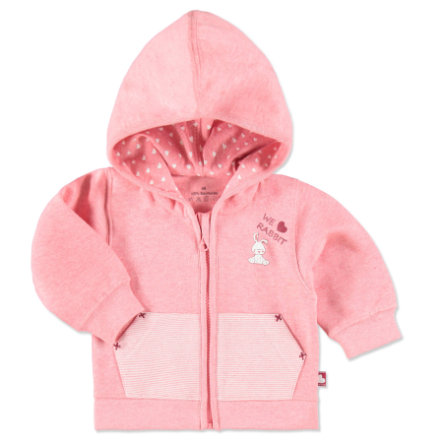 EBI & EBI Sweat Jacket Bunny and Bear pink