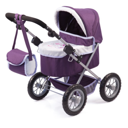 bayer Design Puppenwagen Trendy Piccolina-Set mit Bett