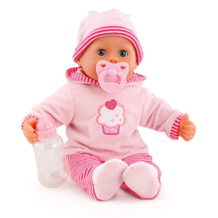 bayer Design Bambola First Words Baby 38 cm, rosa