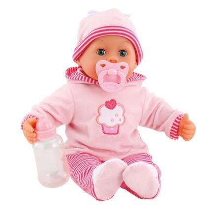 BAYER DESIGN Lalka First Words Baby 38 cm, kolor różowy